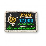 Patch Geo-Achievement® 12000 Finds
