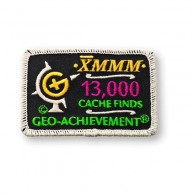 Patch Geo-Achievement® 13000 Finds