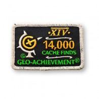 Patch Geo-Achievement® 14000 Finds
