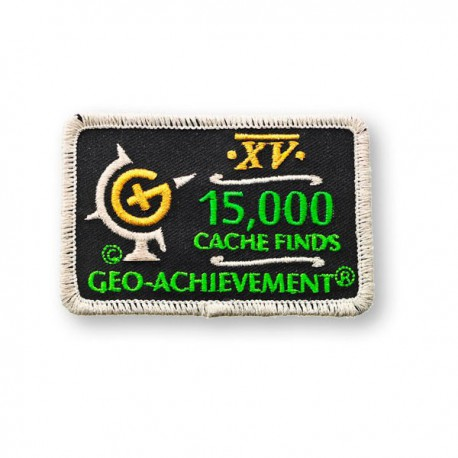 Patch Geo-Achievement® 15000 Finds
