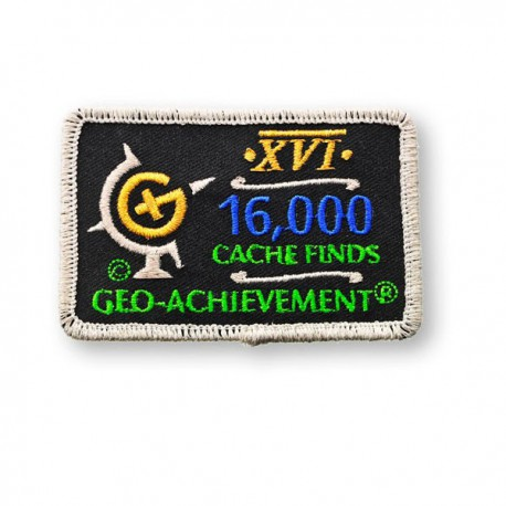 Patch Geo-Achievement® 16000 Finds