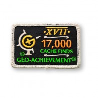 Patch Geo-Achievement® 17000 Finds