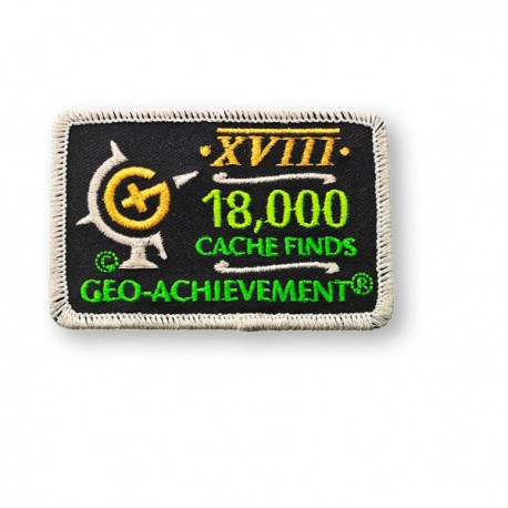 Patch Geo-Achievement® 18000 Finds