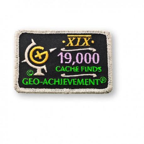 Patch Geo-Achievement® 19000 Finds