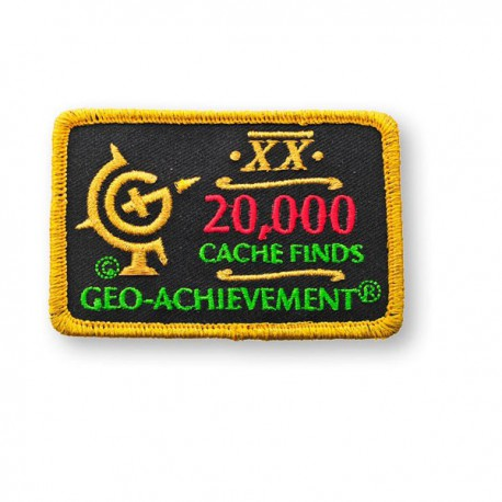 Patch Geo-Achievement® 20000 Finds