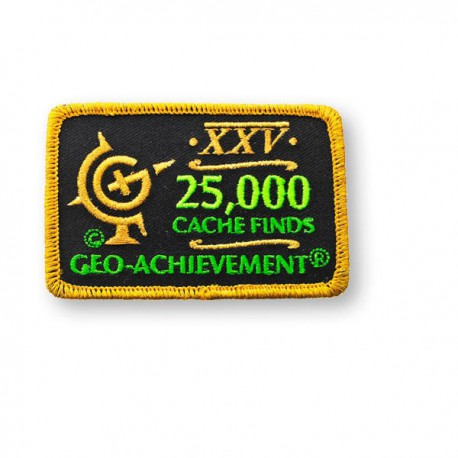 Patch Geo-Achievement® 25000 Finds