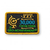 Patch Geo-Achievement® 30000 Finds