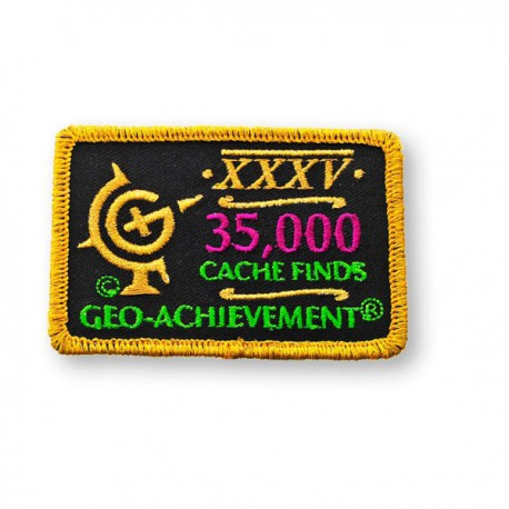 Patch Geo-Achievement® 35000 Finds