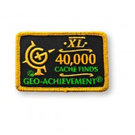 Patch Geo-Achievement® 40000 Finds