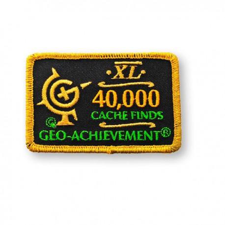 Patch Geo-Achievement® 40000 Finds