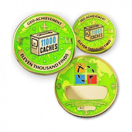 Geo Achievement® 11000 Finds + Pin's + Ecrin