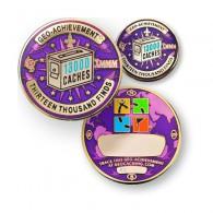 Geo Achievement® 13000 Finds + Pin's + Ecrin