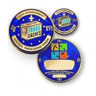 Geo Achievement® 16000 Finds + Pin's + Ecrin