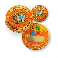 Geo Achievement® 17000 Finds + Pin's + Ecrin