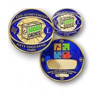Geo Achievement® 50000 Finds + Pin's + Ecrin