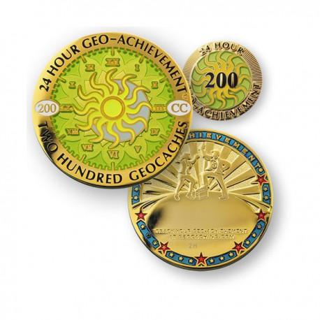 Geo Achievement® 24 Hours 200 Caches