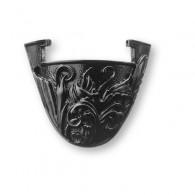 Support Sculpté pour Geocoin - Nickel Noir