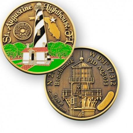 Géocoin Phare de St Augustine