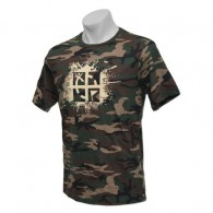 "T-shirt ""Cache Attack"" - Vert militaire - Taille XL"