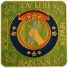 "Géocoin ""Cache Owner Maintenance"" - Satin Gold"