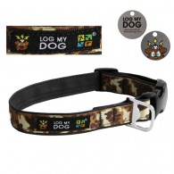 "Kit Collier ""Log My Dog"" camouflage - Taille M"