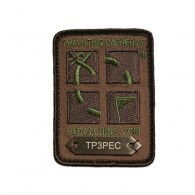 Travel Patch Groundspeak - Camo