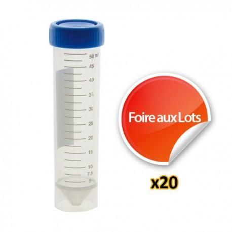 Tube 50ml - Lot de 20