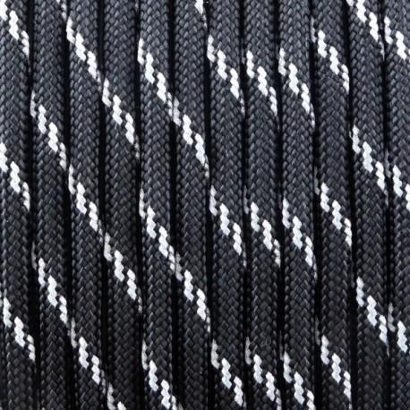 Paracord réflective - Noir