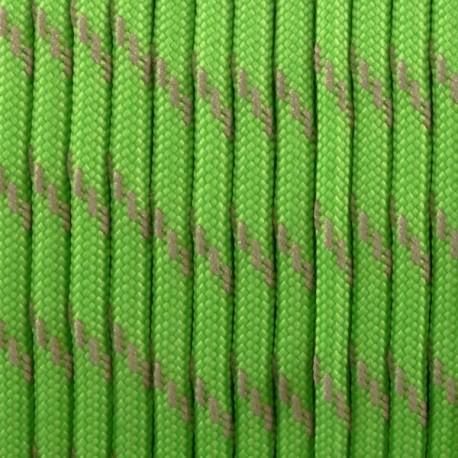 Paracord réflective - Vert