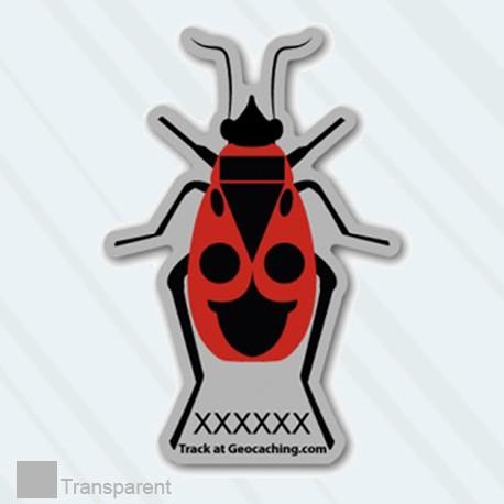 FireBug Traveller - Sticker repositionnable - Small