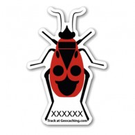 Firebug Traveller - Sticker extérieur blanc - Small