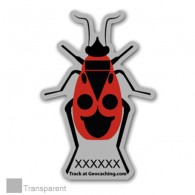 Firebug Traveller - Sticker extérieur transparent - Large