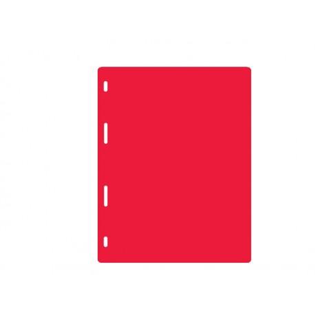 Intercalaire pour album taille M - Rouge