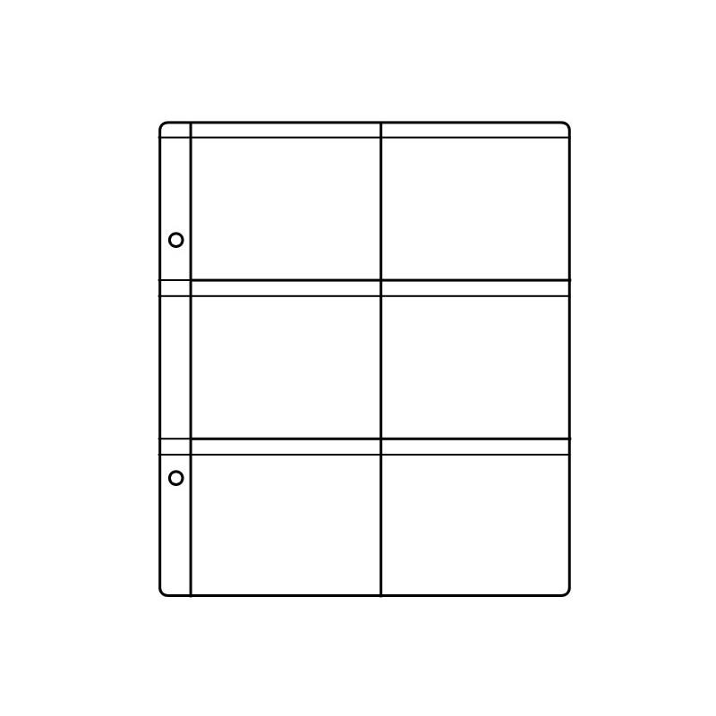 acheter l 39 article feuille pour album taille s 6. Black Bedroom Furniture Sets. Home Design Ideas