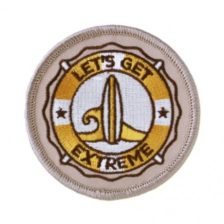 Geocaching Road Trip '15 Patch: Let's Get Extreme