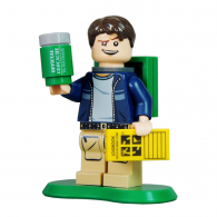 Figurine LEGO trackable - 15 Years Geocaching Cache Hunter