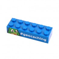 Signal the Frog® Trackable LEGO® Brick- Bleu
