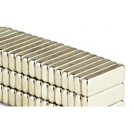 Magnets Rectangle 12x4x2mm - Lot de 10