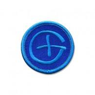 Patch Geocaching Rond - Bleu
