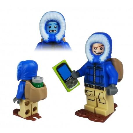 Figurine LEGO trackable - Winter T5 Cache Hunter