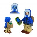 Figurine LEGO trackable - Winter T5 Cache Hunter