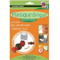 Plastique dingue transparent - Pochette 7 feuilles