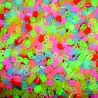 Sachet 3000 perles à repasser - Mix Couleurs Fluos