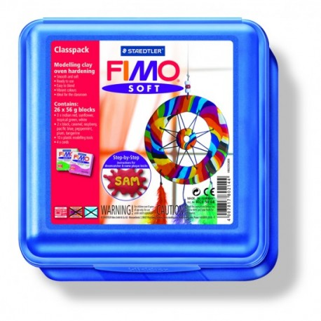 Atelier FIMO Soft 26 pains de 57g avec accessoires