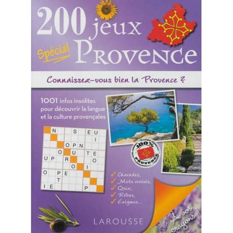 200 jeux spécial Provence