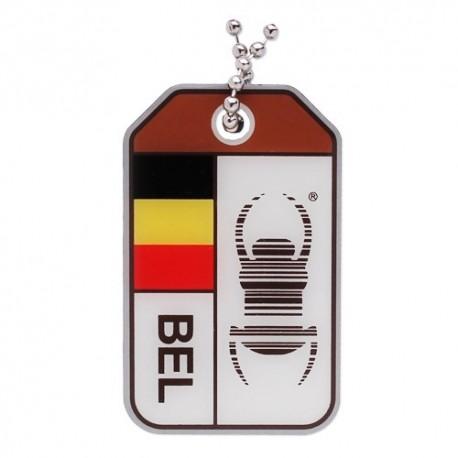 Geocaching Travel Bug® Origins - Belgique