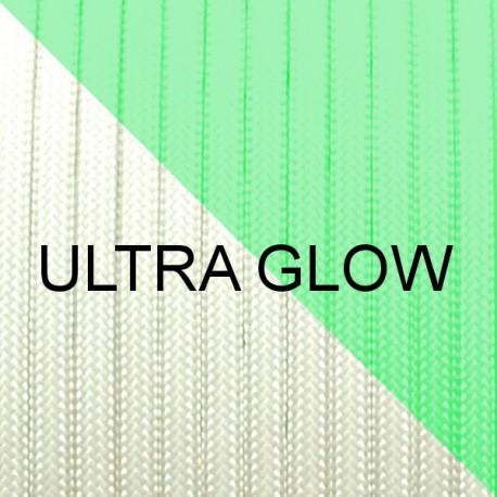 Paracord phosphorescente - Ultra Glow Blanc