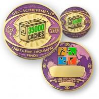 Geo Achievement® 35000 Finds + Pin's + Ecrin