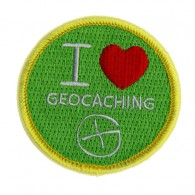 Patch I Love Geocaching