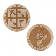 Wooden Nickel SWAG Coin - Signal The Frog®